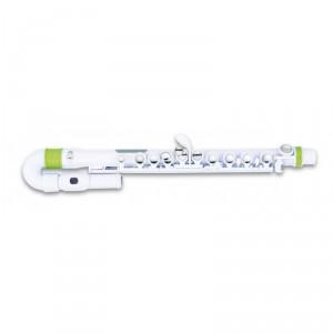 nuvo jflute kit white green - dětská příčná flétna