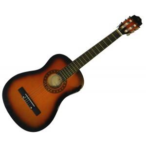 klasická kytara 1/4 pecka cgp-14 sb (sunburst)