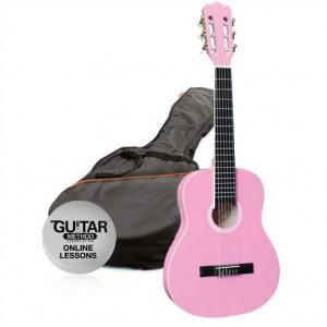 klasická kytara paket 1/4 ashton spcg 14 pk pack (růžová)