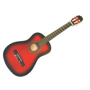 klasická kytara 1/2 pecka cgp-12 rb (červená)