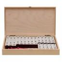 GOLDON - set 19 kamenů metalofonu v dřevěném boxu (11515)
