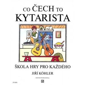 co Čech to kytarista - jiří kohler škola hry pro každého