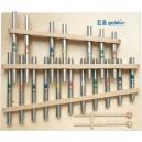 GOLDON Trubičkový xylofon - 18 kamenů, g2-c4 (11360)