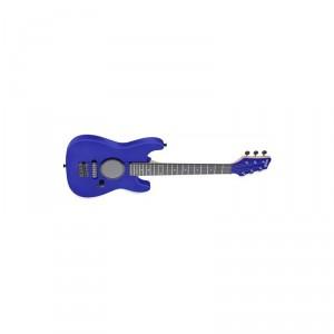stagg gamp200-bl dětská elektrická kytara se zabudovaným zesilov