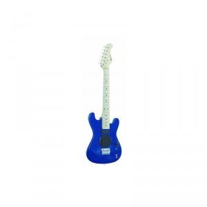 dimavery j-200 kytara se zesilovačem, modrá