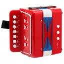 Classic Cantabile Bambino -Dětský akordeon, červený, 2 Basy
